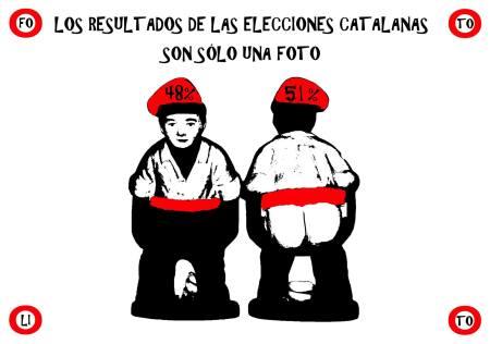 Los resultados de las elecciones catalanas no fueron concluyentes