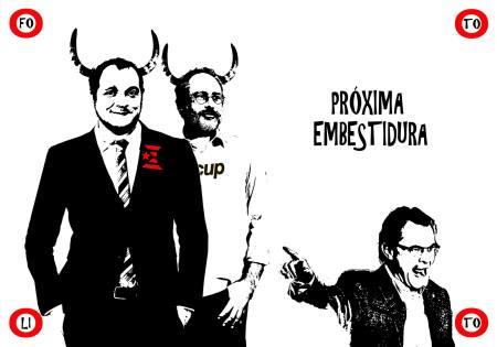 La embestidura de Artur Mas (Fotolitos)